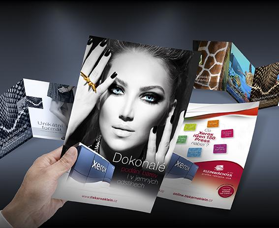 Kvalitní digitální tisk - letáky - tiskárna ve Frýdku- Místku