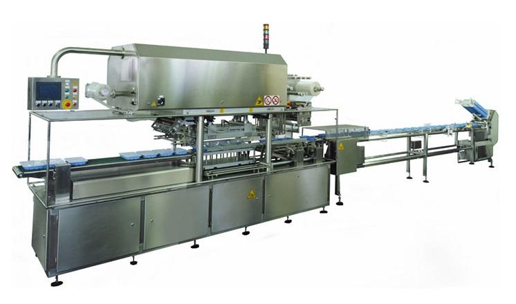 Balicí linky umožní balení potravin do misek.