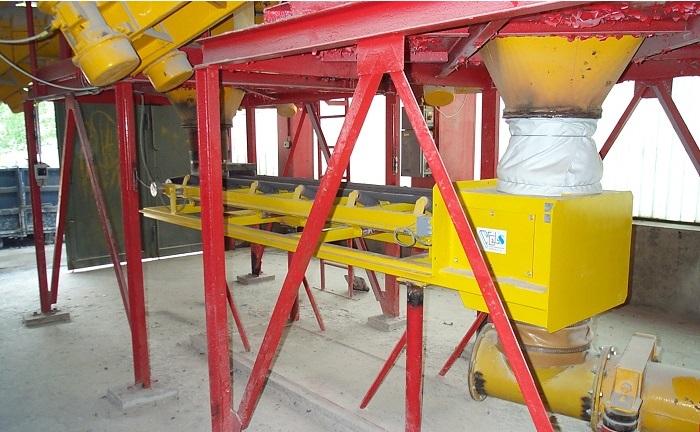 Nabízíme váhy pásové, pytlovací i paletové.