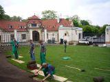 Projekt a realizace rekonstrukce prostoru před Kramářovou vilou.