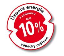 Úspora energie až 10 % systémem adapterm Praha