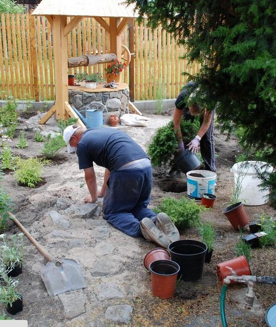 Máme spolehlivý tým zahradníků