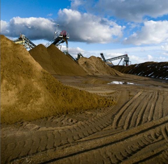 Pískovna Selibice zajistí kvalitní stavební materiály - Louny
