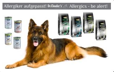 Krmiva pro psy Dr.Clauder´s jsou zárukou kvality.