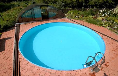 Kulatý bazén