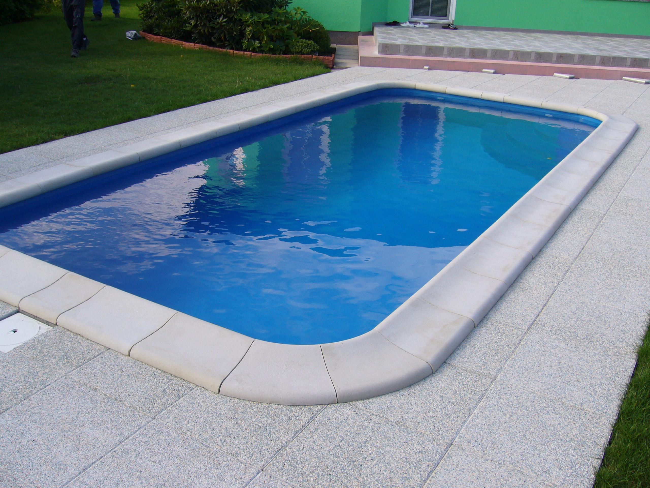 Obdélníkový bazén výroba, prodej