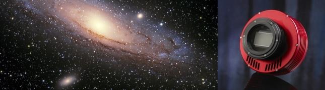 Astronomické a laboratorní kamery
