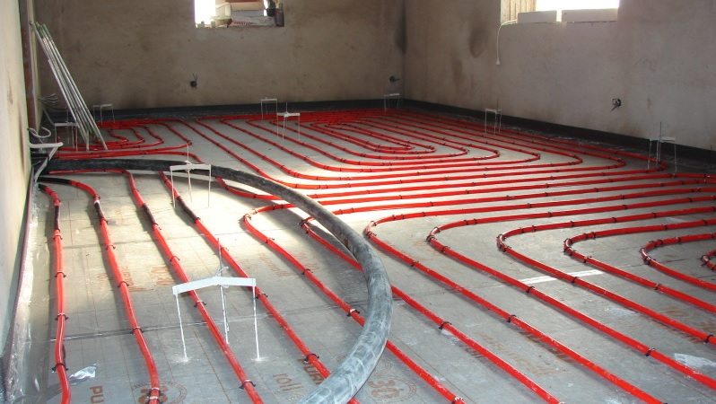 Podlahové topení rychle a kvalitně.