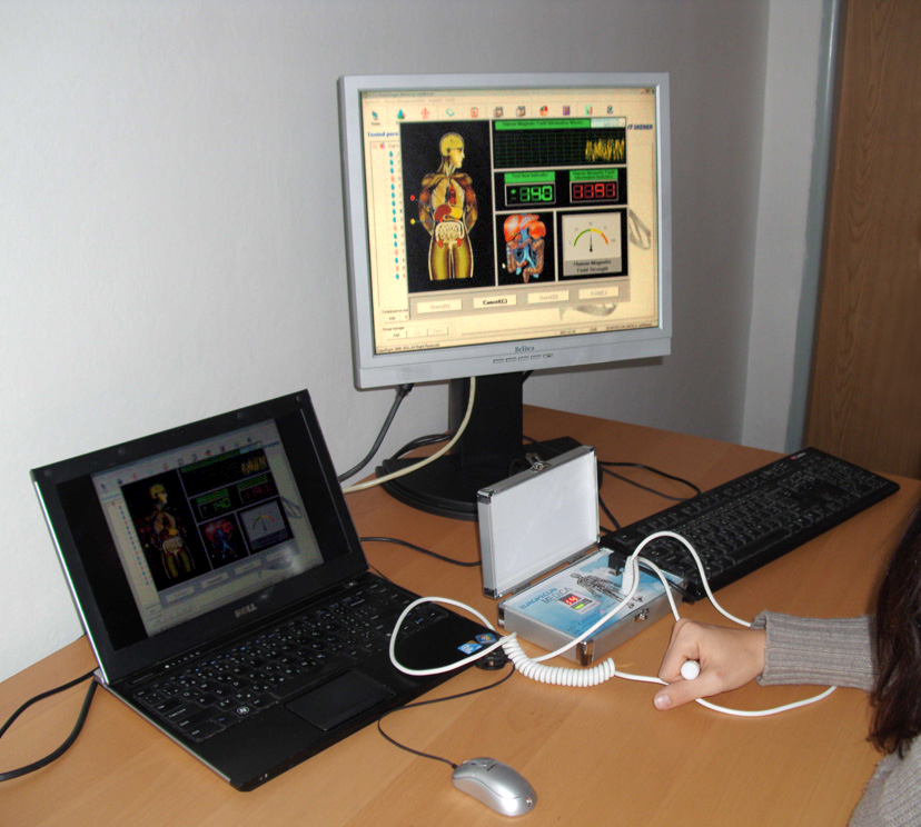 Kondiční orgánový skener pomůže diagnostikovat váš stav