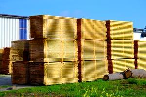 Velkoobchodní prodej, dododavatel stavebního a obalového řeziva Znojmo