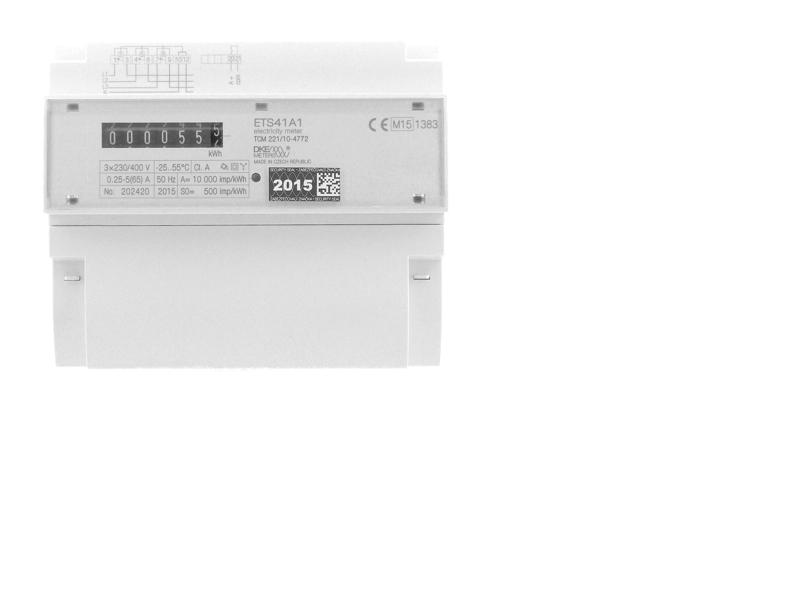 Elektroměr typ ETS41A1