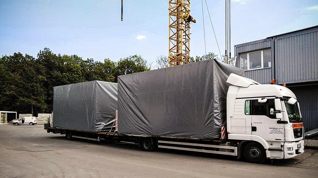 autojeřábnické práce, hydraulická ruka Olomouc
