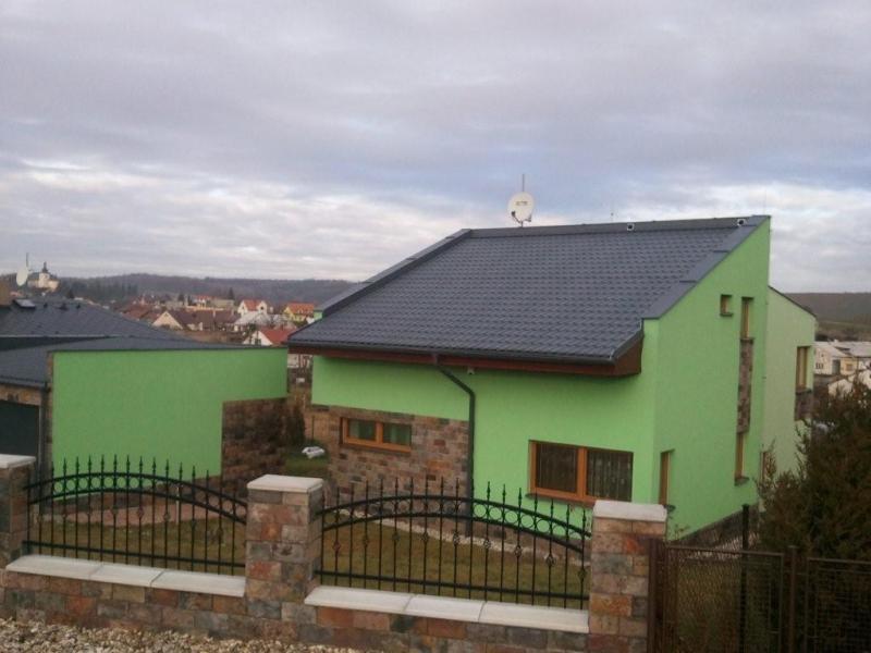 Stavba rodinného domu v Haťi