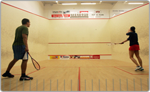 Squash, squashové kurty, centrum - certifikované profikurty