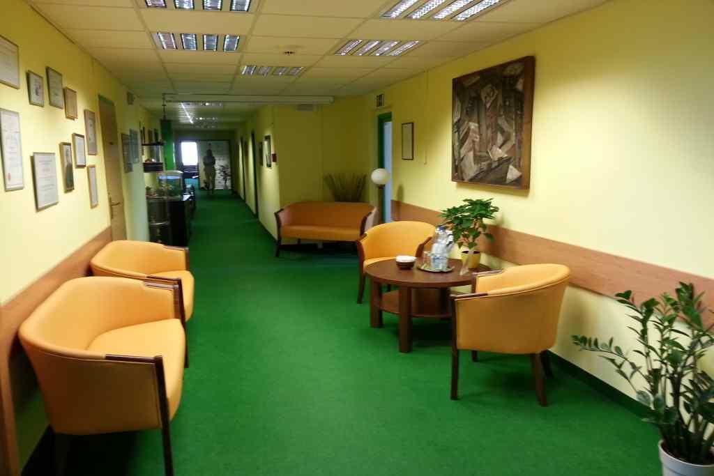 Prostory kliniky Monada