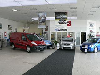 Prodej nových automobilů značky Citroen v Plzni.