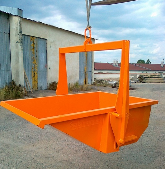 Výklopné kontejnery využijete zejména ve stavebnictví.