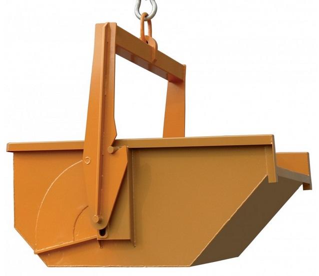 Výklopné kontejnery jednoduše připevníte na jeřáb.