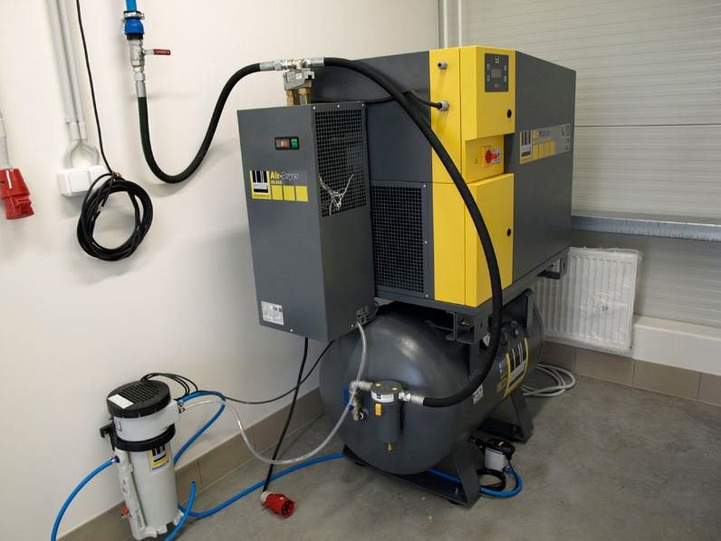 Zařízení pro výrobu stlačeného vzduchu Plzeň