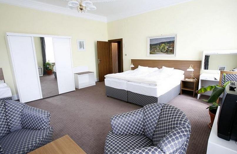 Ubytování je pro vás připraveno ve stylových pokojích