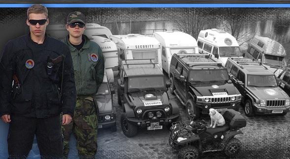 Bezpečnostní služby - ochrana objektů ve dne i v noci - Hradec Králové
