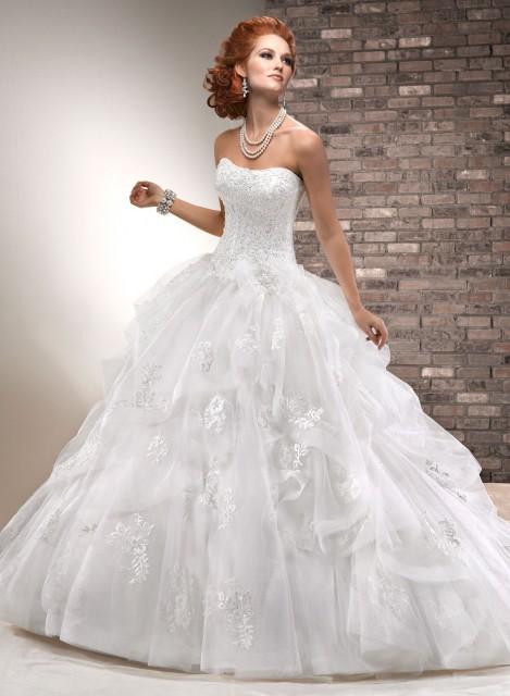 Luxusní svatební šaty Maggie Sottero-prodej v Salonu DáMa