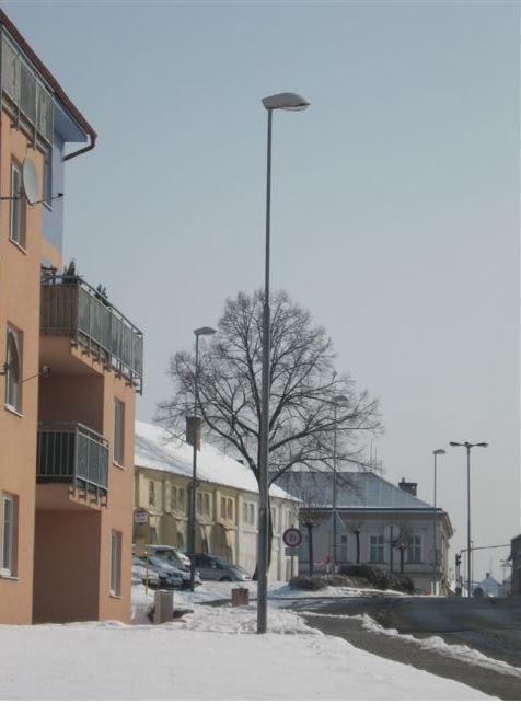 Veřejné osvětlení - výroba a dodávka svítidel Šakvice