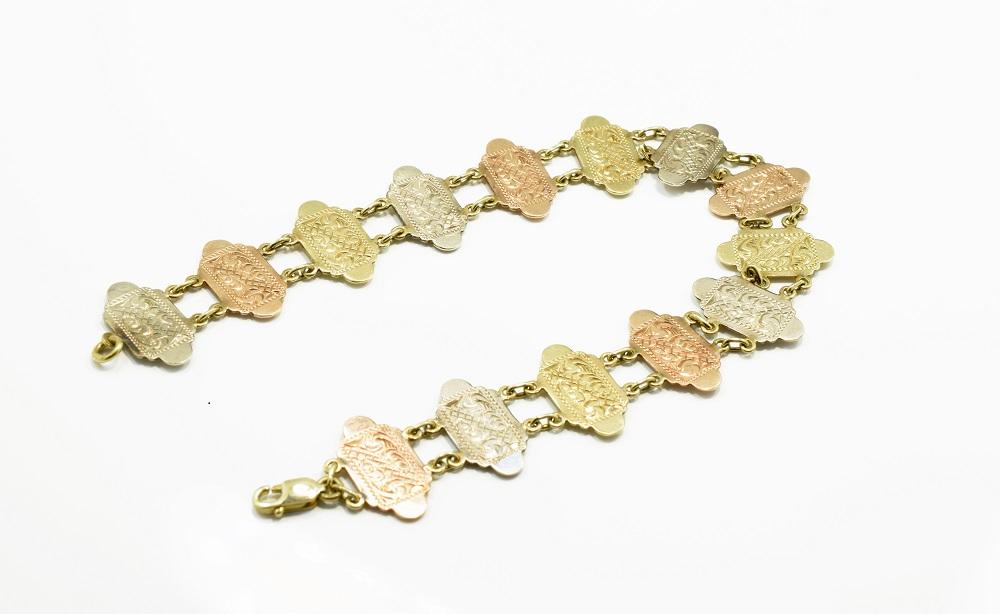 levné zlaté náramky z bazaru