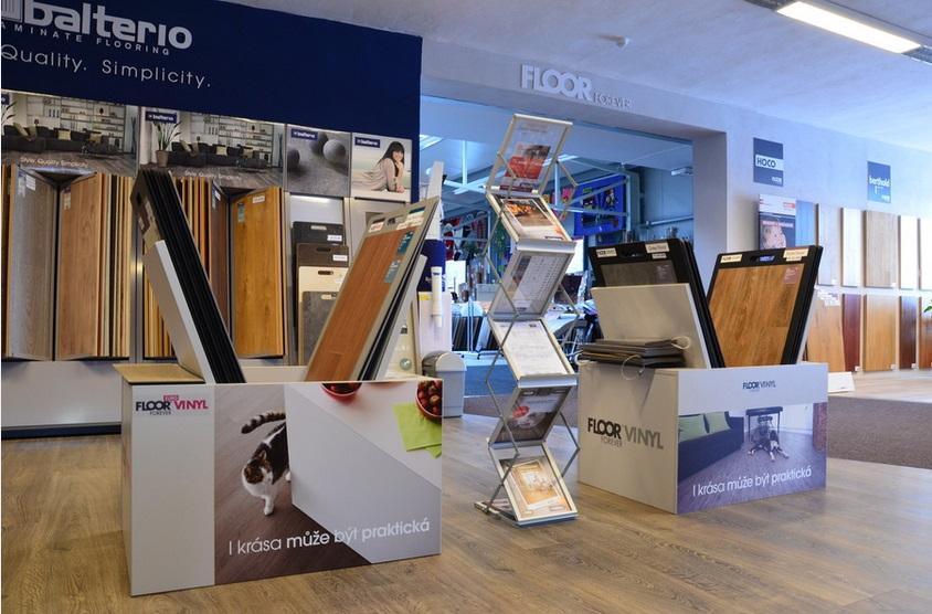 Vinylové podlahy jsou pro podlahové topení ideální – Pardubice