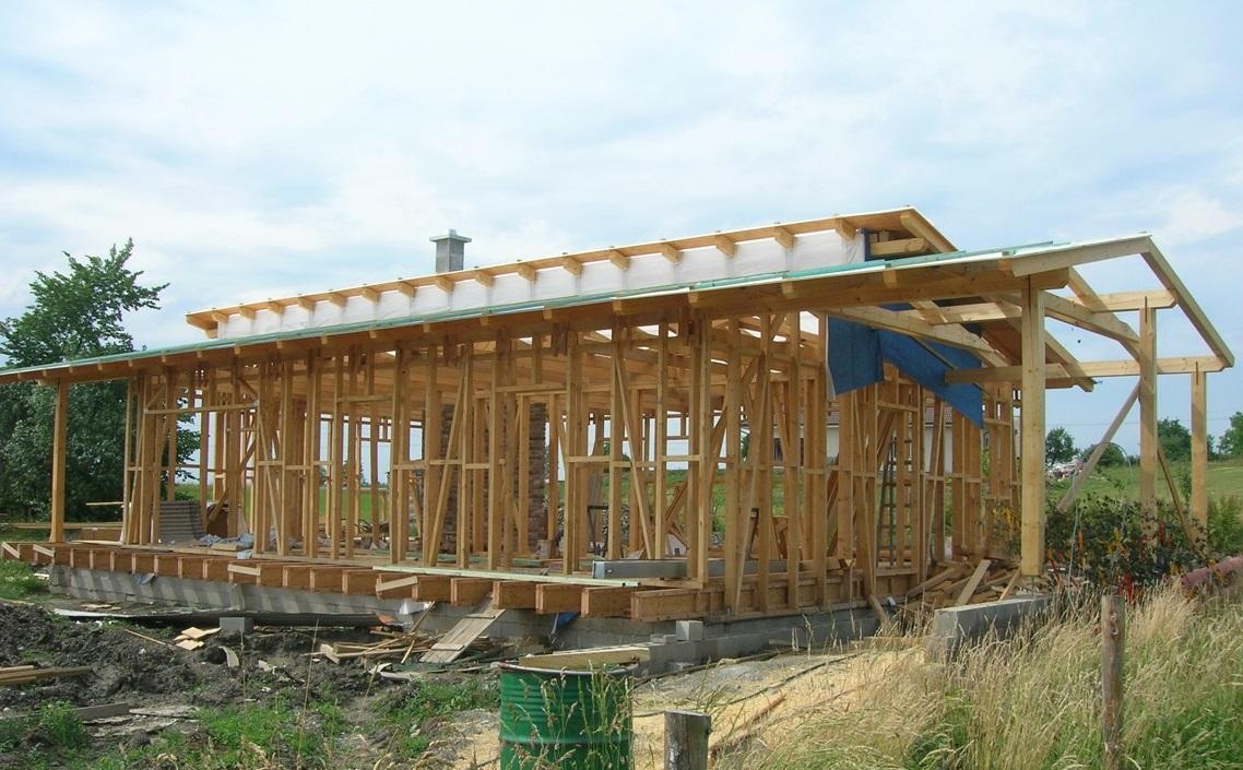 Domy ze dřeva