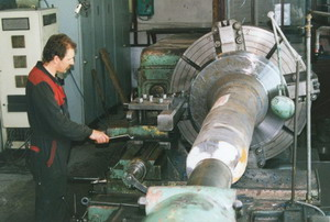 Machining, turning, milling of metallurgical products Prerov, the Czech Republic