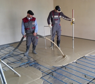 Realizace epoxidové, lité, průmyslové podlahy, čerpání betonu Ostrava