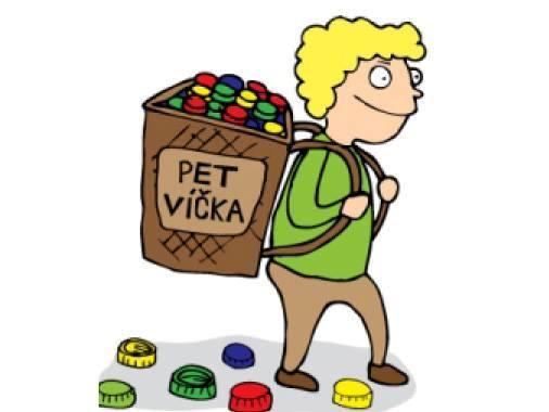 Soutěž nakrmte plastožrouta - sběr a výkup víček z PET lahví pro školy i školky