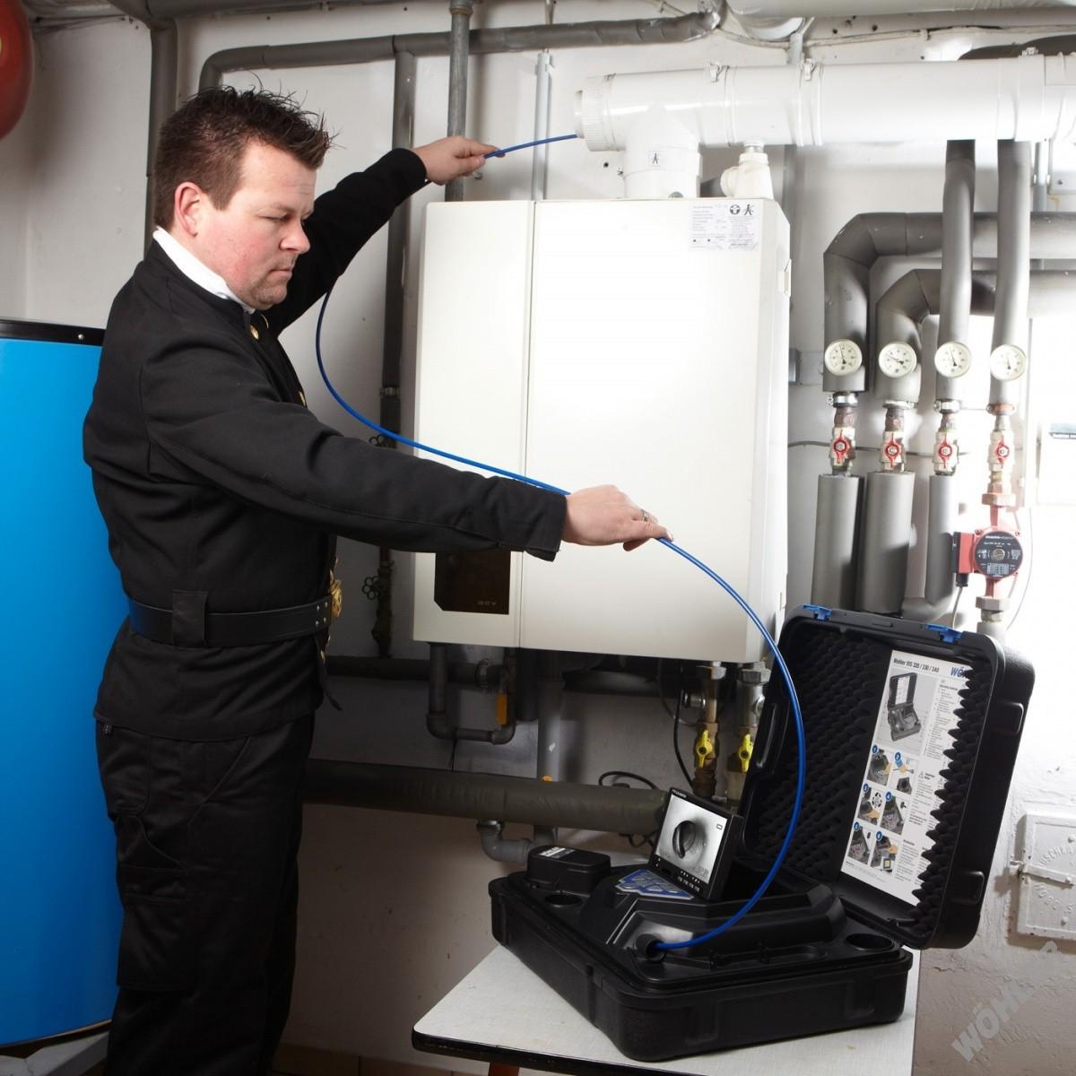 Inspekční kamery pro komíny a potrubí, kominický program
