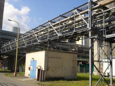 Montáže, výmena, oprava priemyselných potrubných rozvodov Zlínsky kraj