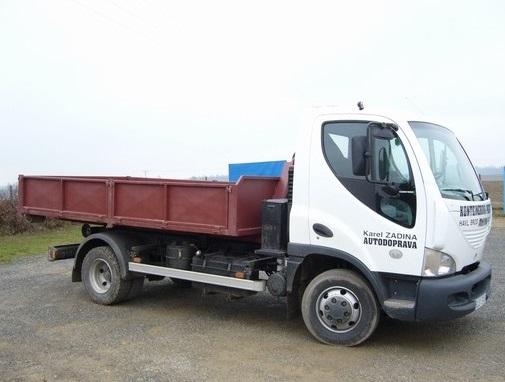 Přistavíme vám kontejner o obejmu až 4,5 tuny.