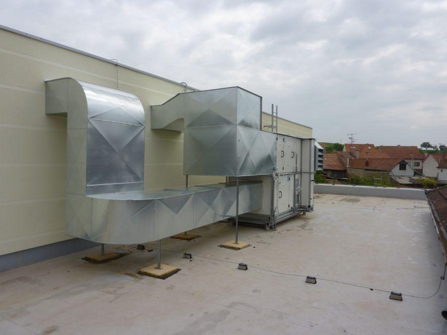 Průmyslová a komfortní vzduchotechnika, úprava vzduchu Hodonín