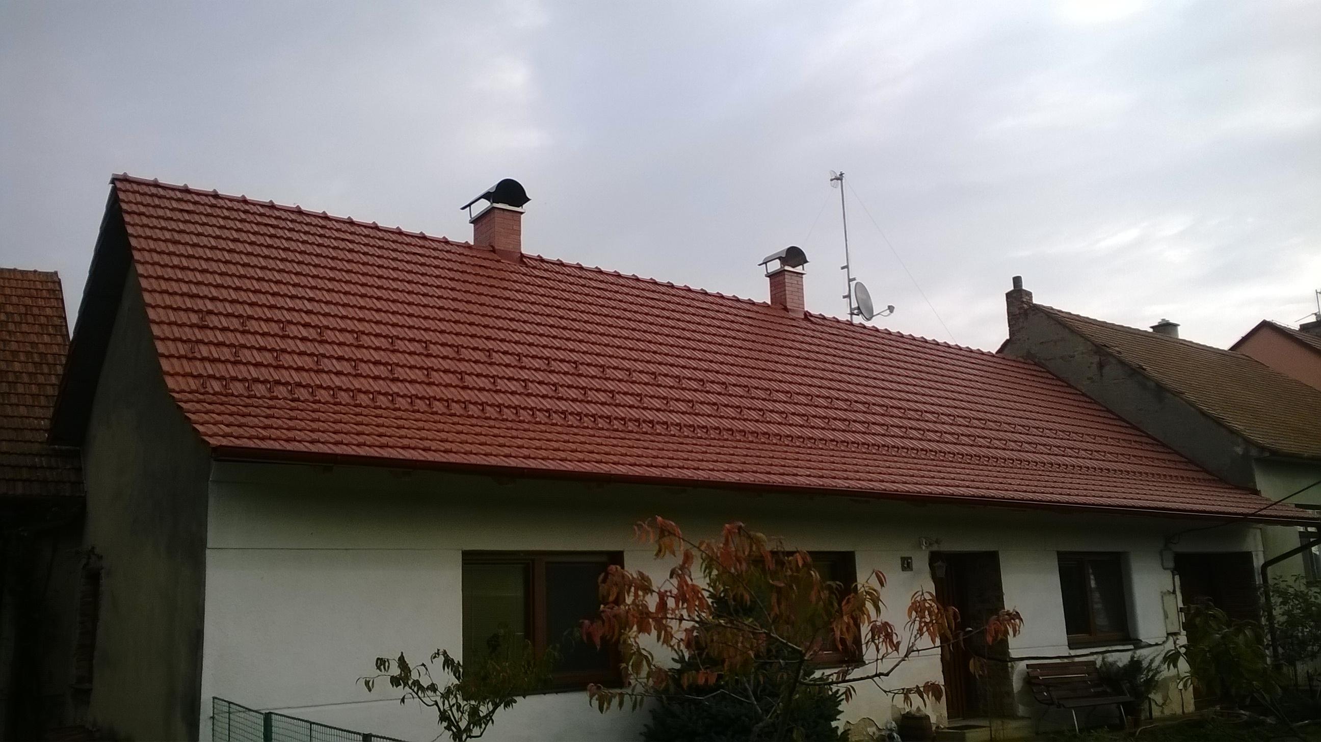 Rekonstrukce střech Znojmo