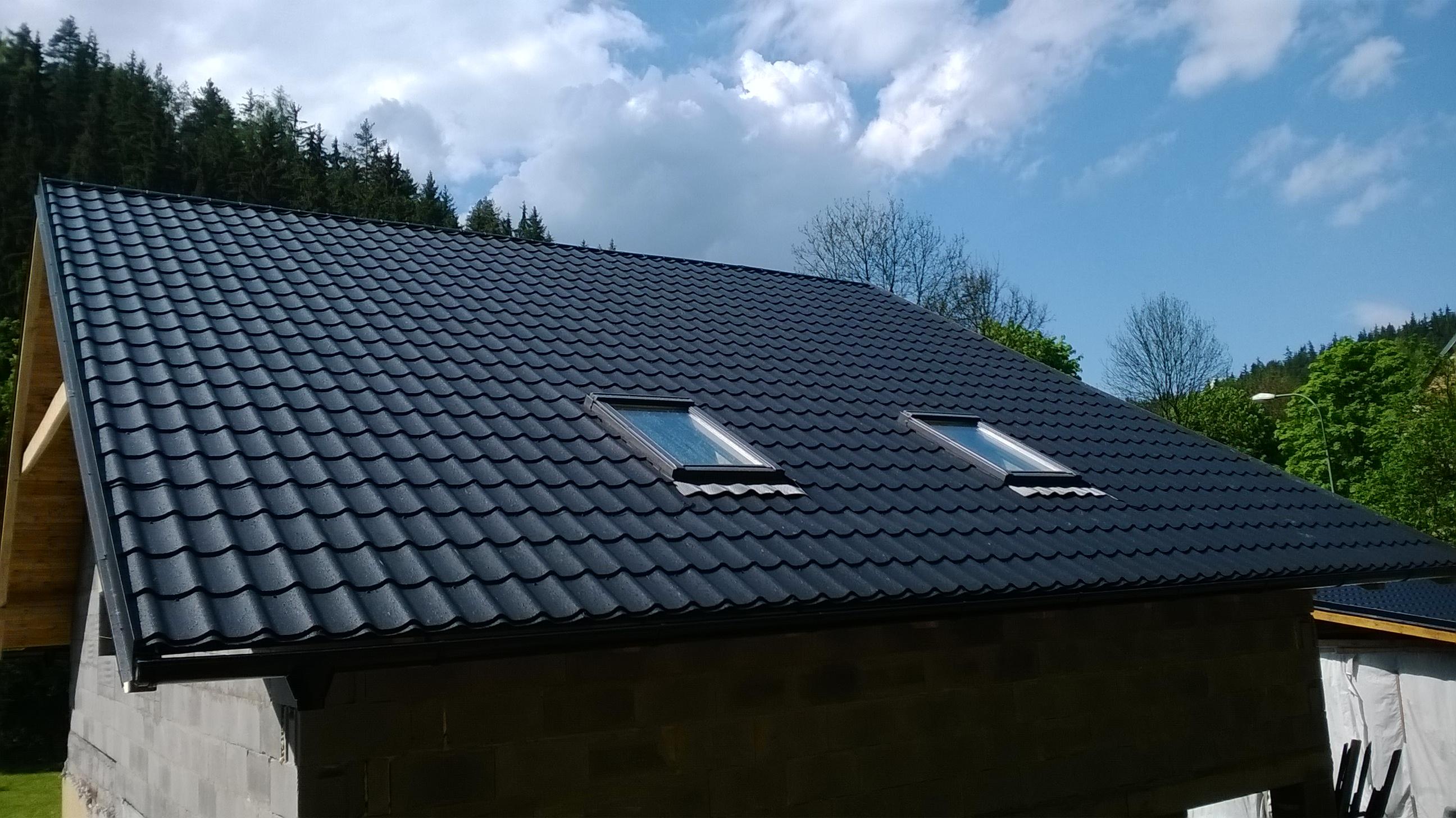 Stavba šikmých střech Znojmo