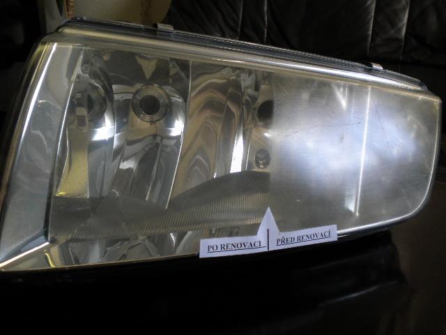 Renovace světlometů z polykarbonátu Praha