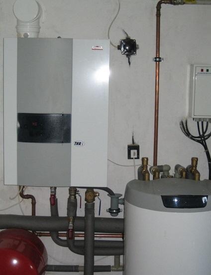 Nabízíme také instalace, opravy a výměny kotlů.