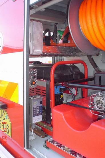 opravy hasičských aut