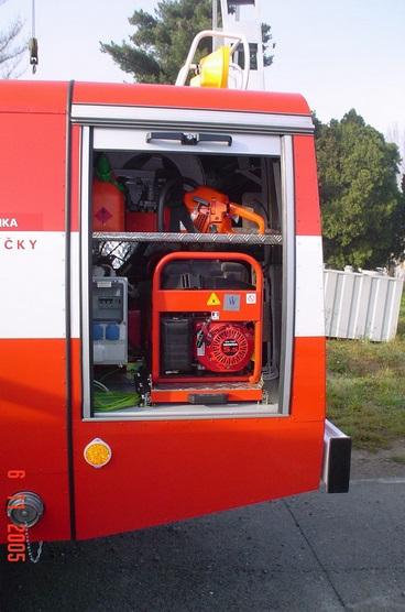 repase hasičských aut
