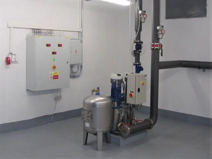 Zařízení pro rozvod pitné vody Ostrava