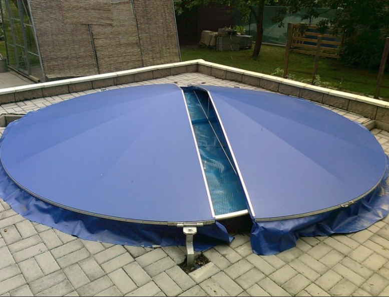 Kryt na kulatý bazén
