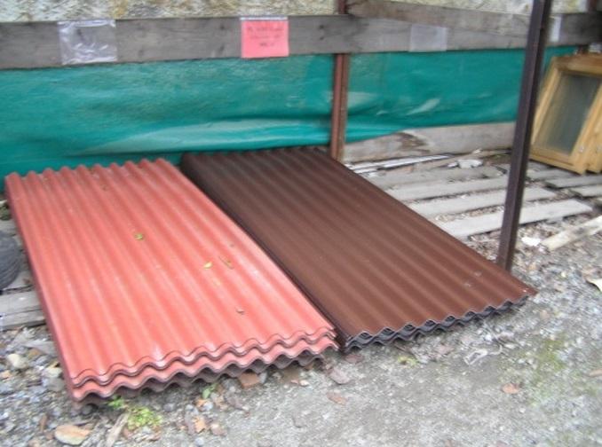 Bazar stavebního materiálu