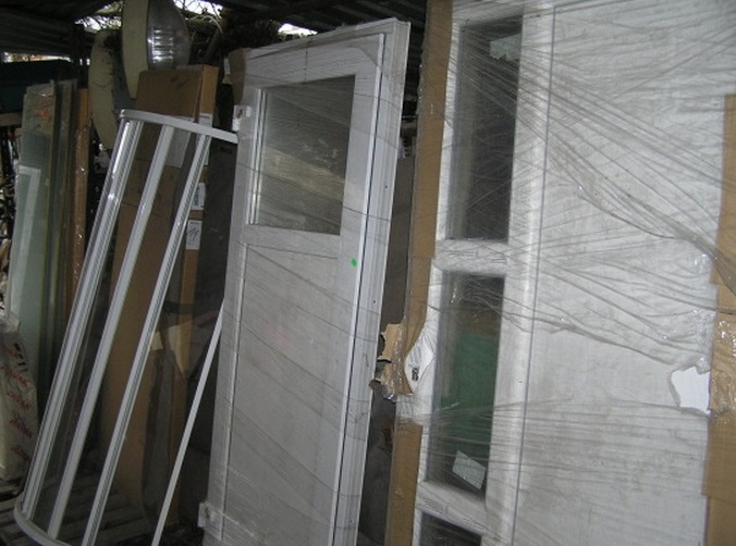 Bazar se stavebním materiálem