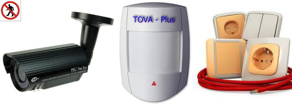 Elektromontáže, kamery, zabezpečení, zvonky, antény pro firmy i domácnost Zlín