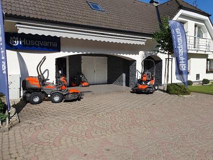 Záruční, sezónní servis, opravy zahradní techniky Dolmar, Husqvarna, Dakr, Jonsered