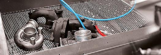 Generální oprava turbodmychadla, nastavení a testování regulace turba
